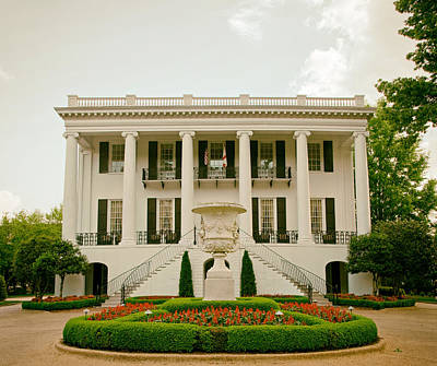 President's Mansion - University Of Alabama Poster