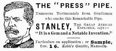 'press' Pipe, 1893 Poster by Granger