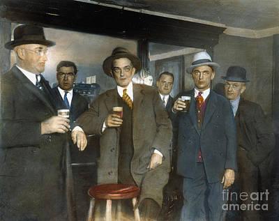 Prohibition: Speakeasy Poster by Granger