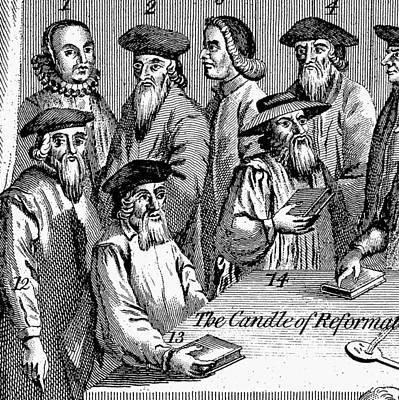 Protestant Reformation Poster by Granger