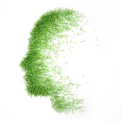 Psychology Poster by Andrzej Wojcicki