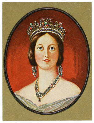 Queen Victoria          Date 1819 - 1901 Poster