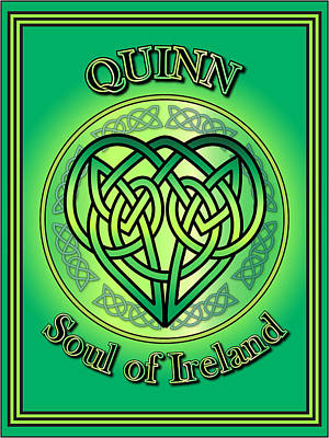 Quinn Soul Of Ireland Poster