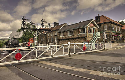 Railway Tavern Grosmont  Poster by Rob Hawkins