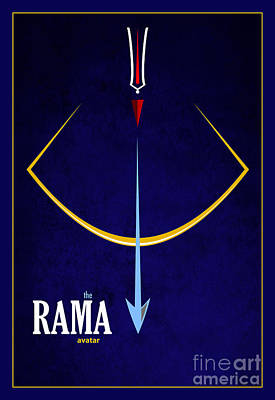 Rama The Avatar Poster