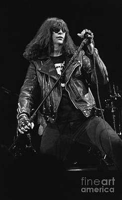 Ramones - Joey Ramone Poster by Concert Photos
