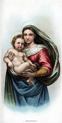 Raphael Madonna Poster