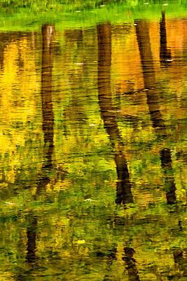 Reflecting On Autumn Poster by Steve Harrington