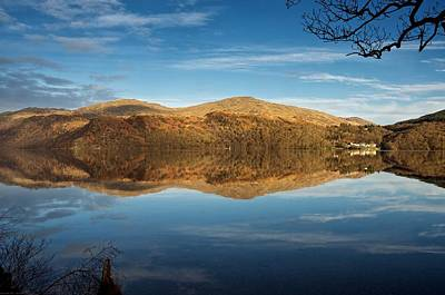 Poster featuring the photograph Reflections On Loch Lomond by Stephen Taylor