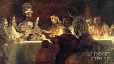 Rembrandt Smaller Version Poster
