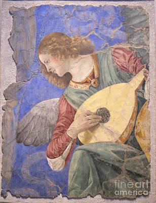 Renaissance Lute Player Poster