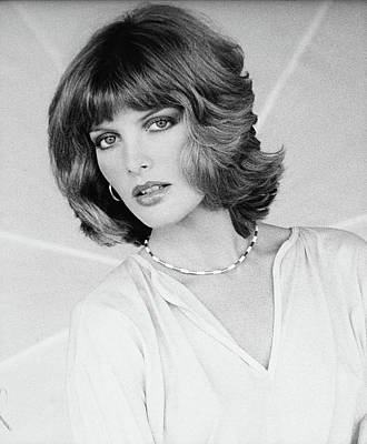 Rene Russo Wearing A Harry King Hairstyle Poster by Francesco Scavullo