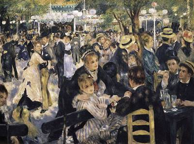 Renoir, Pierre-auguste 1841-1919. Ball Poster by Everett
