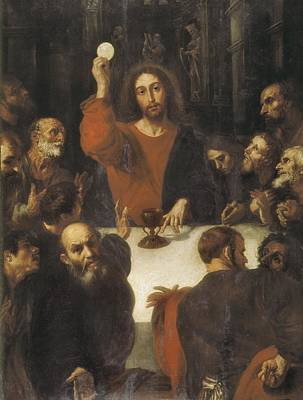 Ribalta, Juan 1596-1628. The Holy Poster