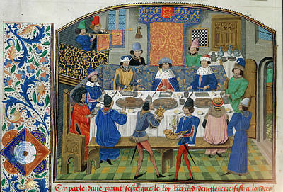 Richard II Dines With Dukes Poster