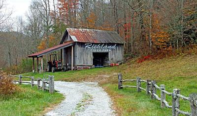 Richland Creek Farm Barn Poster