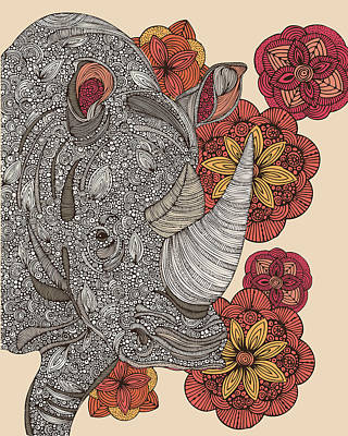 Rino Poster by Valentina Ramos