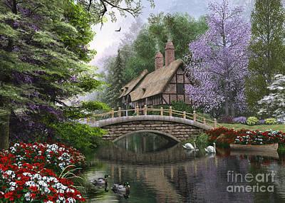 River Cottage Poster