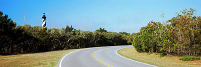 Road Leading Towards A Lighthouse, Cape Poster by Panoramic Images