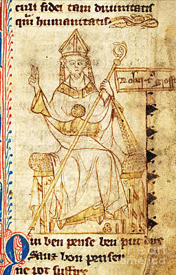 Robert Grosseteste, English Scientist Poster by Science Source