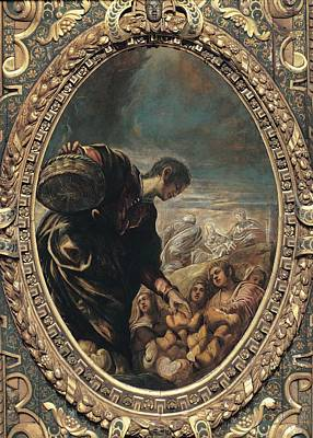 Robusti Jacopo Known As Tintoretto Poster by Everett