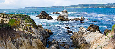 Rock Formations On The Coast, Point Poster