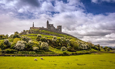 Rock Of Cashel Ireland Poster by Pierre Leclerc Photography