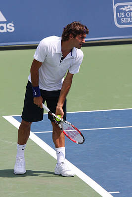 Roger Federer Poster by James Marvin Phelps