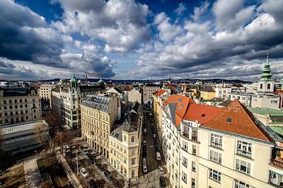 Roofs Poster by Oleksandr Maistrenko