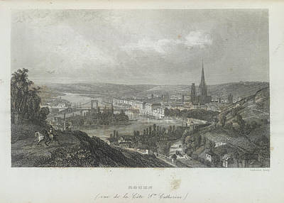 Rouen Poster by British Library