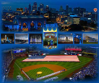 A Royal Blue Kansas City  Poster