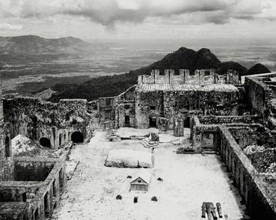 Ruins In Haiti Poster by Cecil Beaton