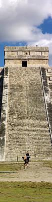 Ruins Of A Pyramid, Kukulkan Pyramid Poster
