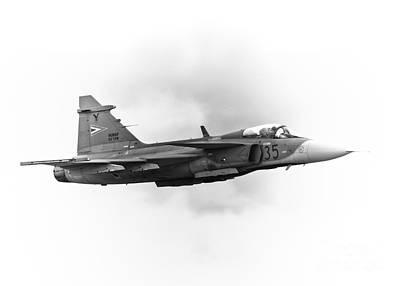 Saab Jas-39 Gripen Poster