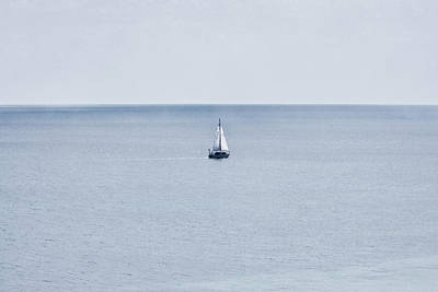 Poster featuring the photograph Sail Away by Zoe Ferrie