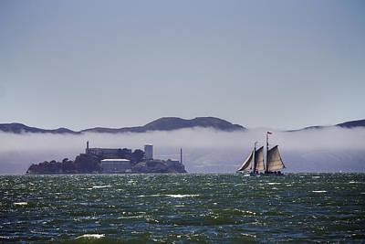 Sailing To Alcatraz Poster