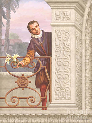 Saint Aloysius Gonzaga Poster by John Alan  Warford