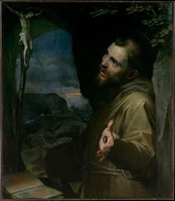 Saint Francis Poster by Federico Barocci