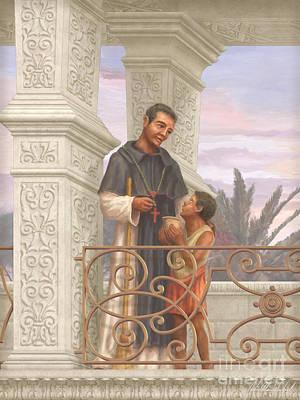 Saint Martin De Porres Poster by John Alan  Warford