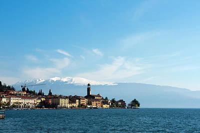 Salo, Lago Di Garda, Lombardia, Italy Poster by Sergio Pitamitz