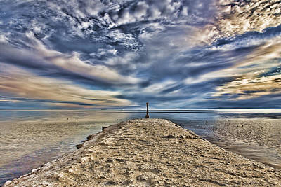 Salt Pier Salton Sea Poster by Hugh Smith