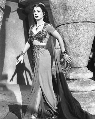 Samson And Delilah, Hedy Lamarr, 1949 Poster