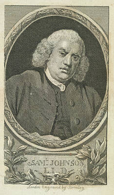 Samuel Johnson Poster by British Library