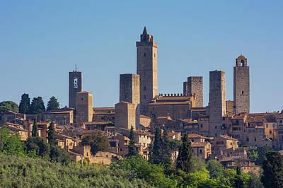 San Gimignano, Siena Province, Tuscany Poster