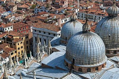 San Marco Basilica. Venice. Poster by Fernando Barozza