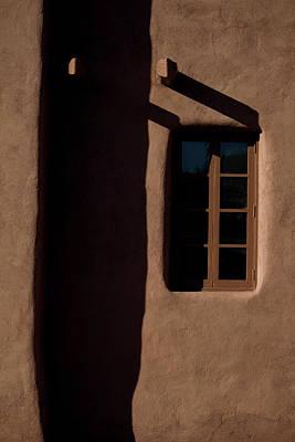 Santa Fe Light And Shadow Poster by Elena Nosyreva