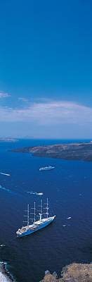 Santorini Island Greece Poster by Panoramic Images