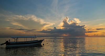 Poster featuring the photograph Sanur Beach - Bali by Matthew Onheiber