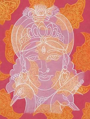 Saraswati Poster by Jennifer Mazzucco