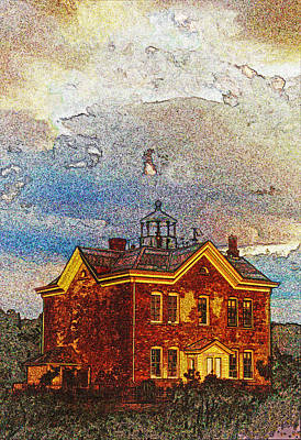 Saugerties Lighthouse Poster by Skip Willits
